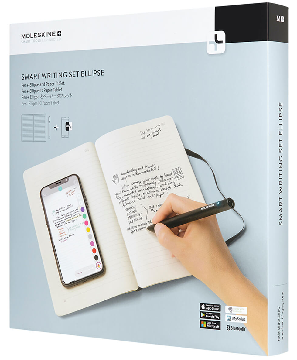 Smart Writing Set - Pen + Ellipse, Paper Tablet